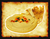 Our very own signature chik-pea Hummus perfectfully seasoned! ( a must have! )