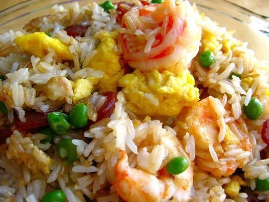 house special fried rice fried rice with chicken shrimp