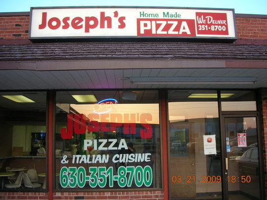 JOSEPH'S PIZZA - and Italian cuisine