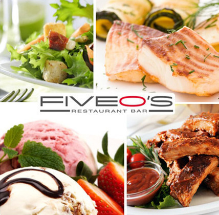 Five O's - delcious food, awesome value, great atmosphere and stunning views