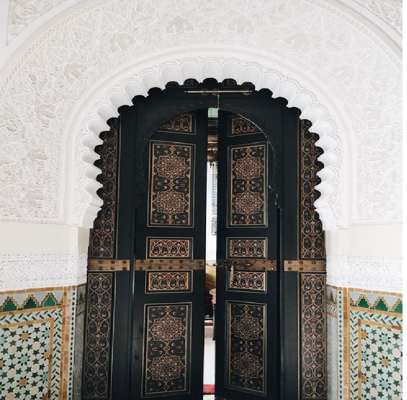Old Moroccan Door