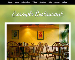 Asian Fusion restaurant website template