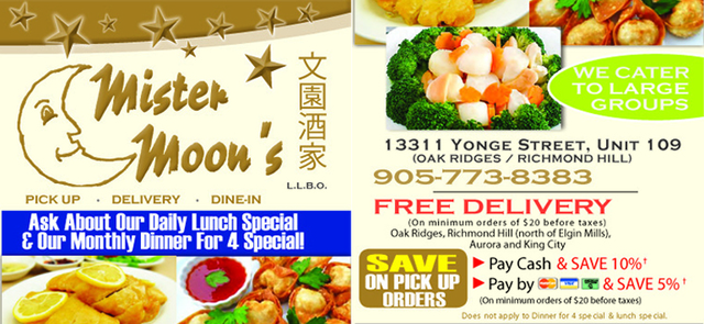 Chineese Food Home Delivery Oak Ridges