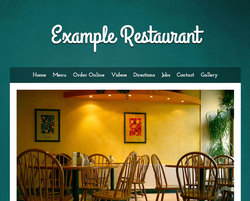 Breakfast & Brunch restaurant website template